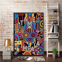 canvas oil painting new tame impala psychedelic rock music band album poster prints art wall pictures for home decor %d0%ba%d0%b0%d1%80%d1%82%d0%b8%d0%bd%d1%8b