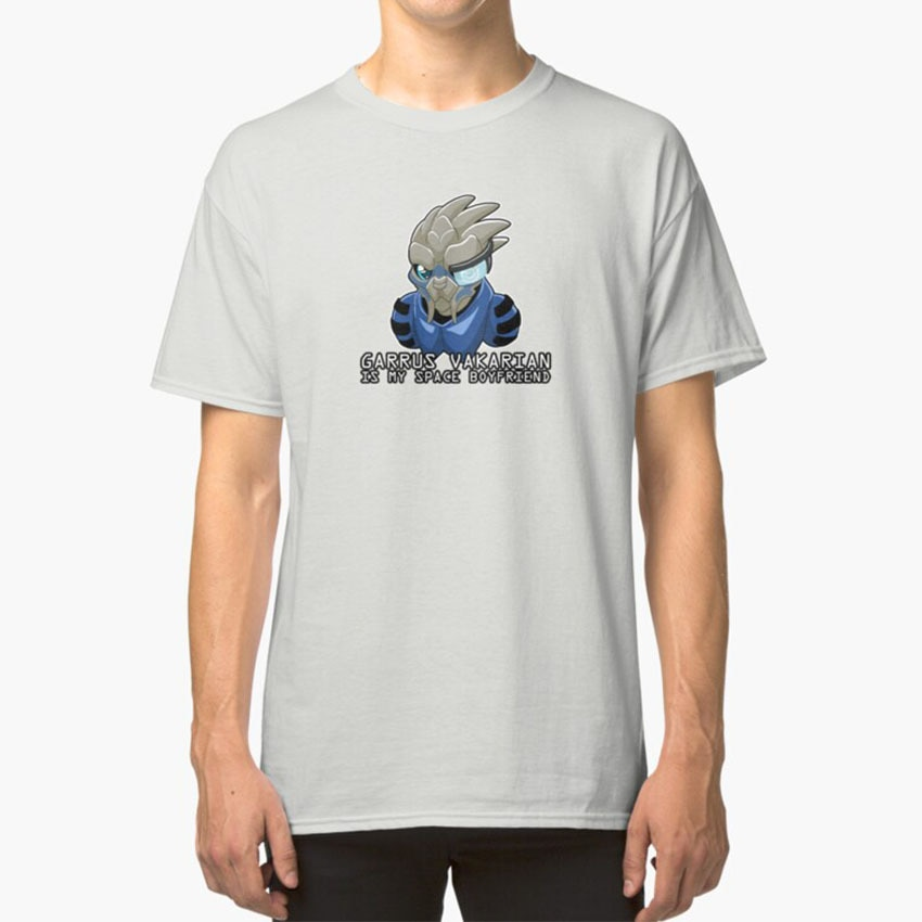 Garrus Is My Space Boyfriend T - Shirt Mass Effect Garrus Garrus Vakarian Mass Effect 2 Mass Effect 3 Video Games