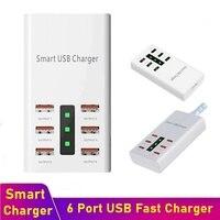 Tongdaytech 30 Вт мульти для быстрой зарядки с usb-портом для зарядки и передачи информации 6 портов USB зарядное устройство для 2A мобильный телефон д...