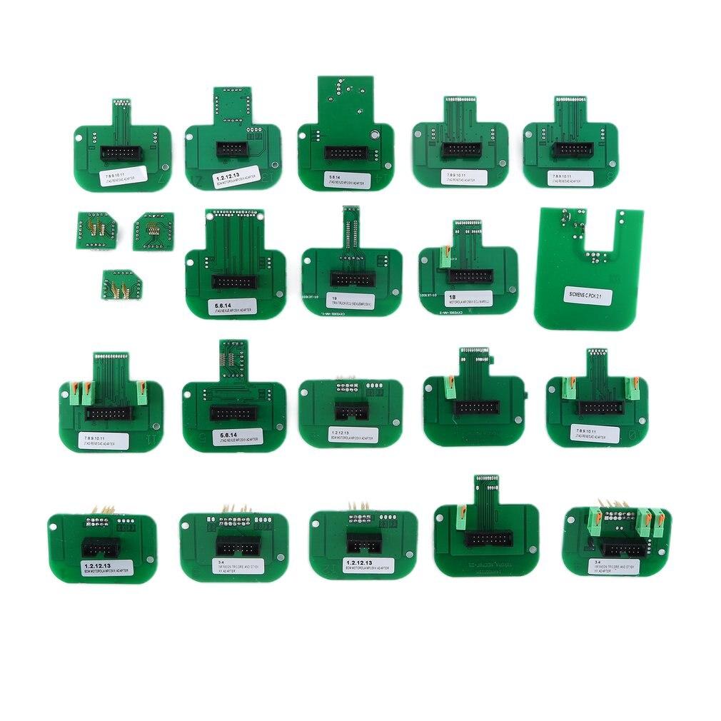 Adaptadores BDM de 22 Uds., práctico Dimsport, kit completo de adaptadores de sonda BDM con marco LED BDM, adaptadores duraderos