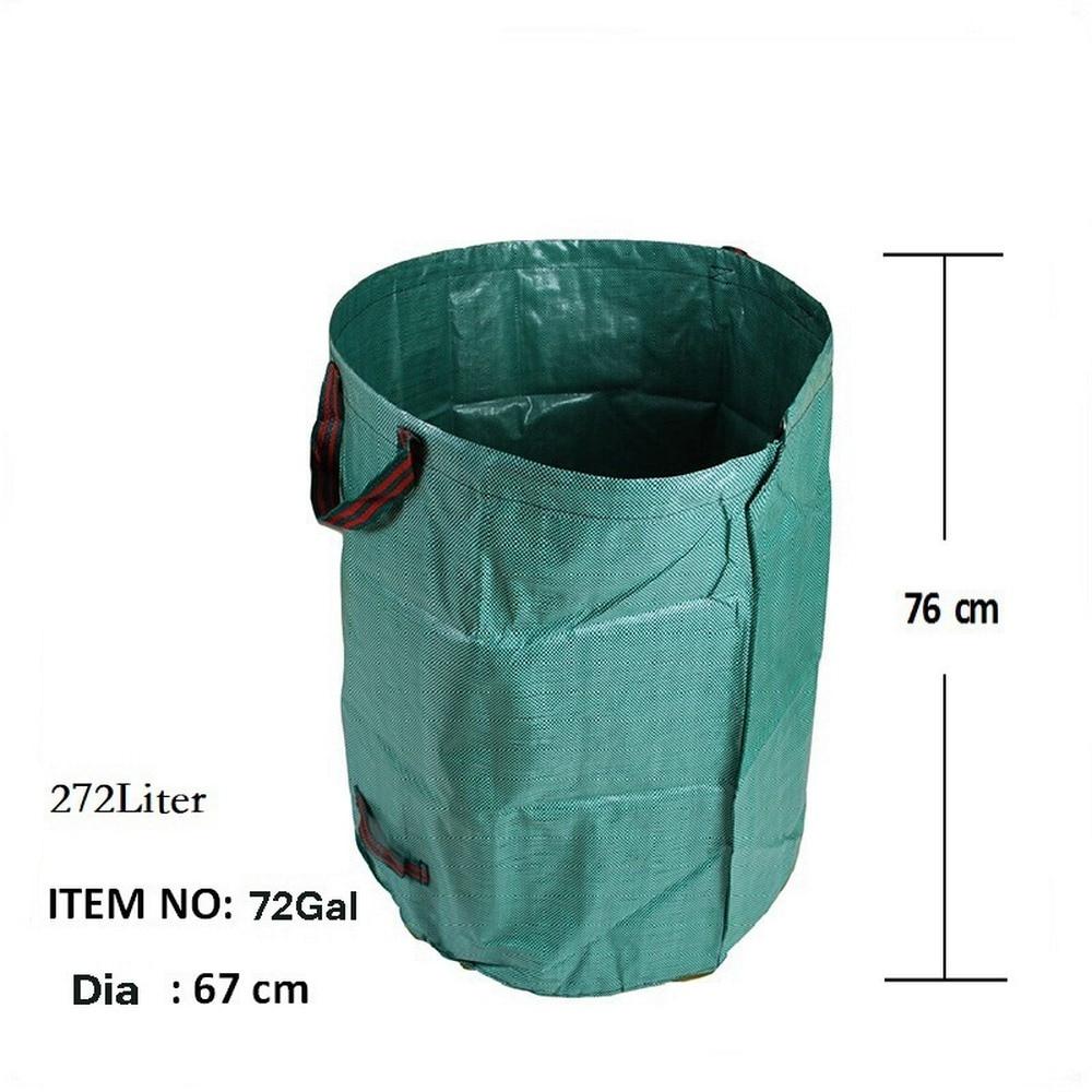Portátil plegable Pop-jardín de basura, bolsa de almacenamiento, de basura hierba y flores colección Bin para jardín de campamento