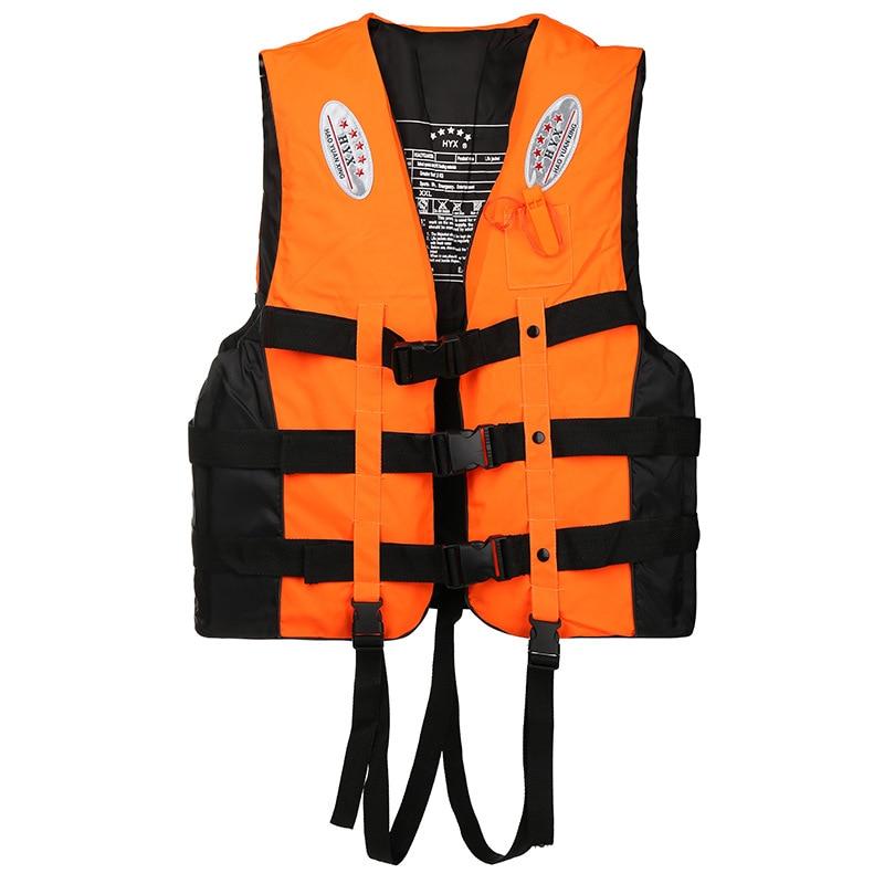 Спасательные жилеты со свистком, спасательные жилеты для взрослых, мужчин, женщин, детей, для плавания на лодке и дрифтинга, размера плюс раз...