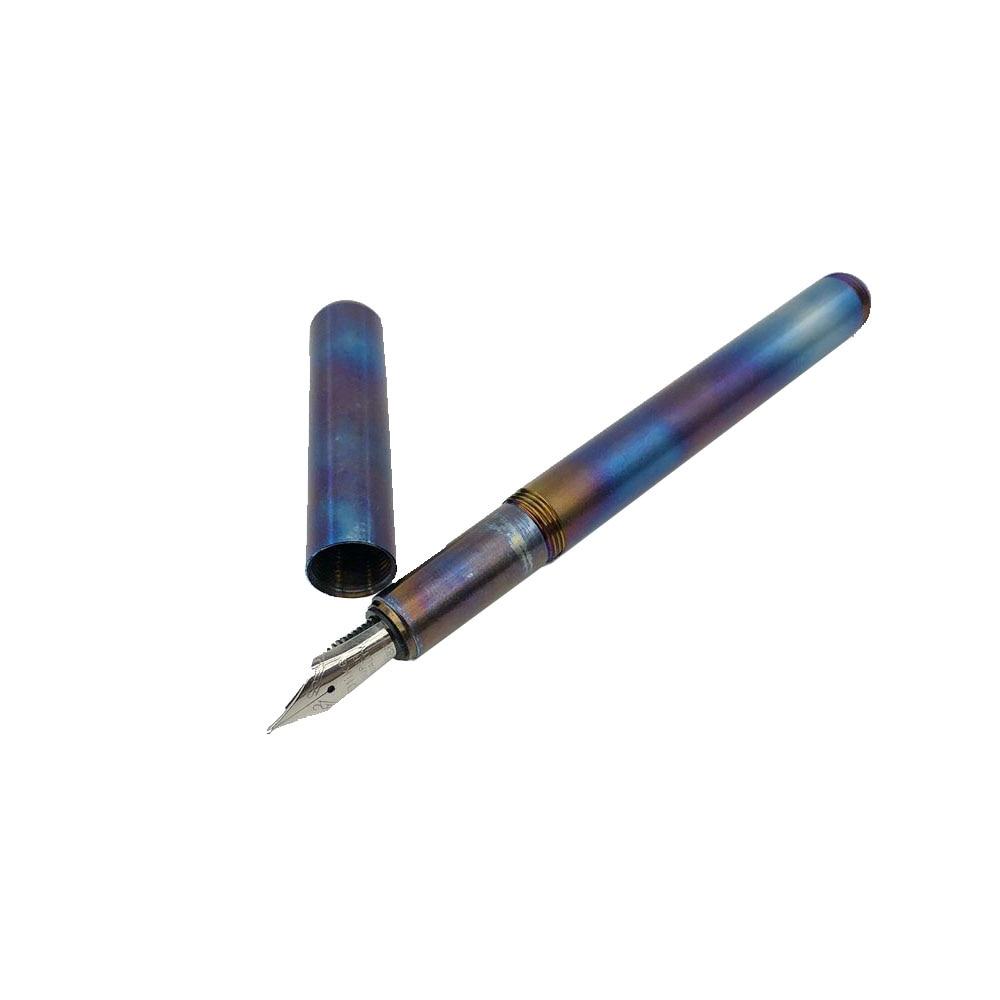 في الهواء الطلق أدوات الكتابة EDC الملونة جيب القلم التيتانيوم القلم