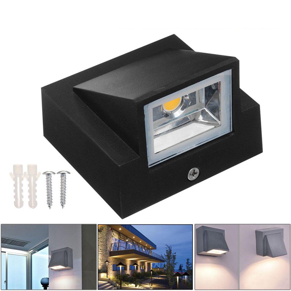 IP65 Waterproof wall lamp outdoor 5W 10W  light outdoor Building Exterior Gate Balcony Garden Yard lighting