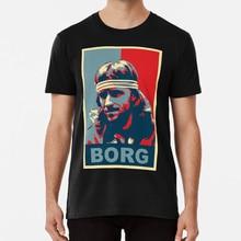 The Legend T shirt winner 64 legend stockholm swedish wimbledon slam obama borg racquet
