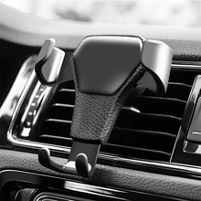 Universal Gravity Auto Phone Holder Car Air Vent Clip Mount Mobile Phone Holder CellPhone Stand Supp