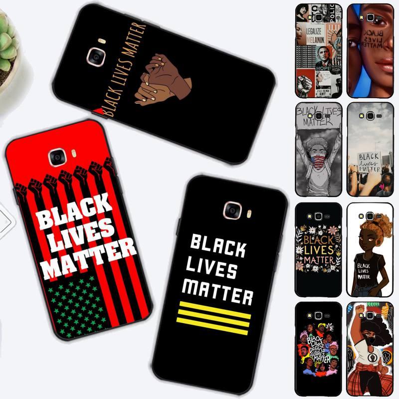 FHNBLJ-funda negra para Samsung J4 plus, J2prime, J5, J6 plus, 2016, J7,...