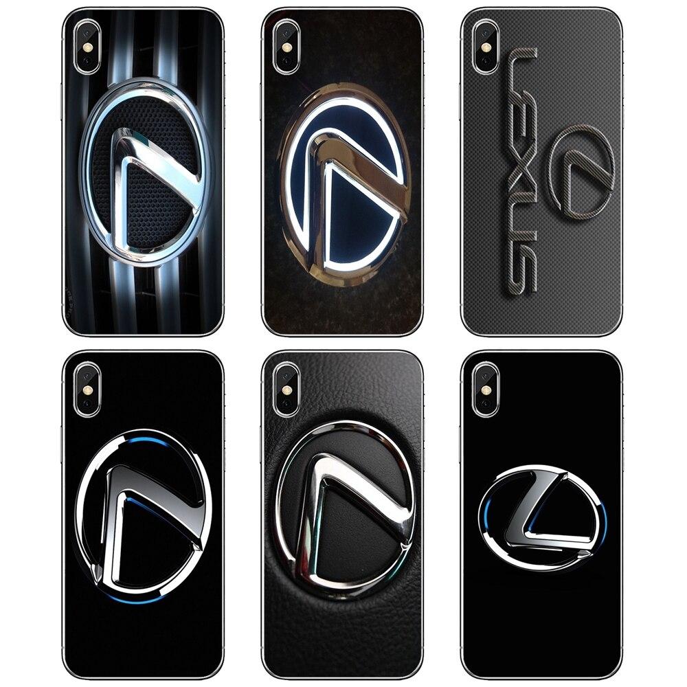 luxury-Car-Lexus-Logo-Print Silicone Phone Case For Huawei Mate 20 30 40 7 8 9 10 Lite Pro P Smart 2