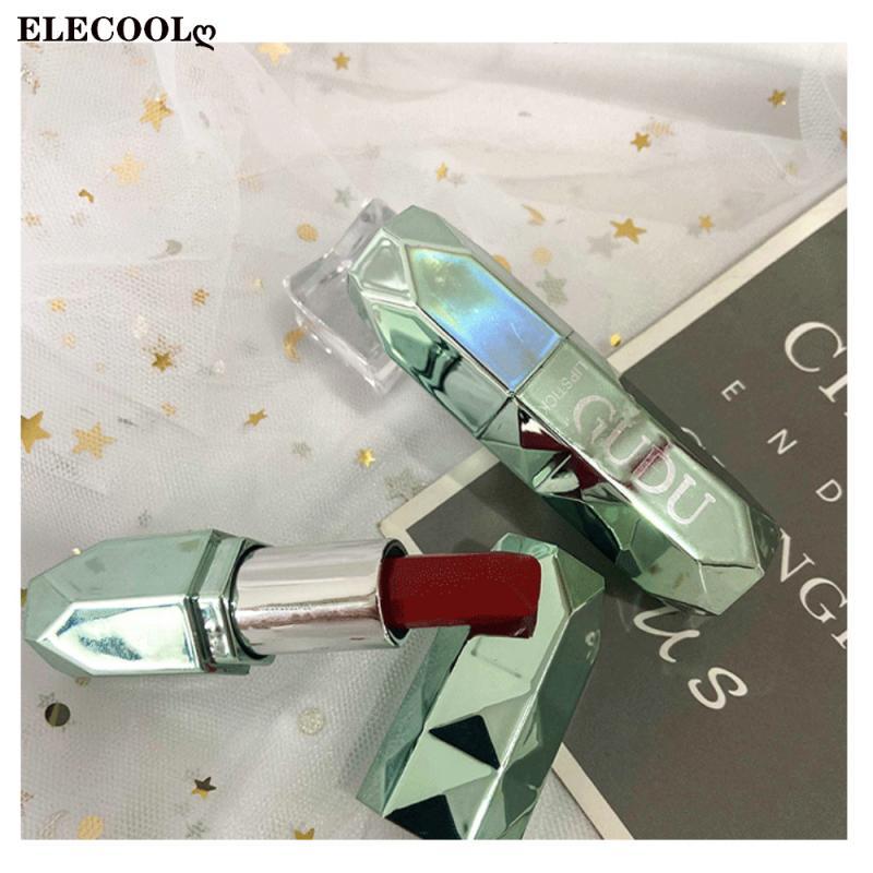 ELECOOL Waterproof Matte Velvet Glossy Lip Gloss Lip stick Sexy Red Lip 8 Colors Women Fashion Lipst