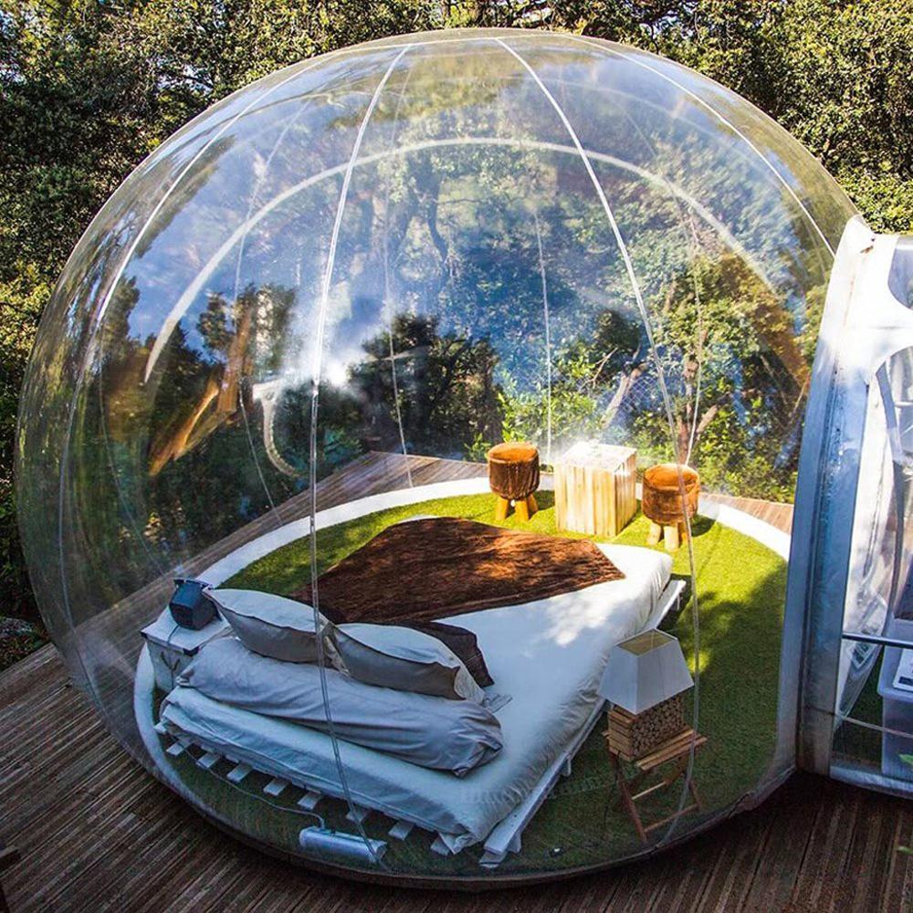شجرة فقاعات قابلة للنفخ ، خيمة كوخ الإسكيمو ، قطر 3 م ، 4 م ، 5 م ، مروحة ، منزل فقاعات ، تصميم جديد ، شحن مجاني ، رخيص