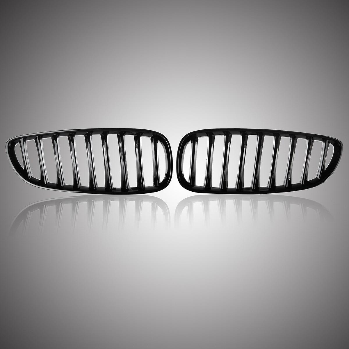 Nuevo par de rejillas de malla frontal negras brillantes (izquierda y derecha) para BMW Z4 E89 2008-2016
