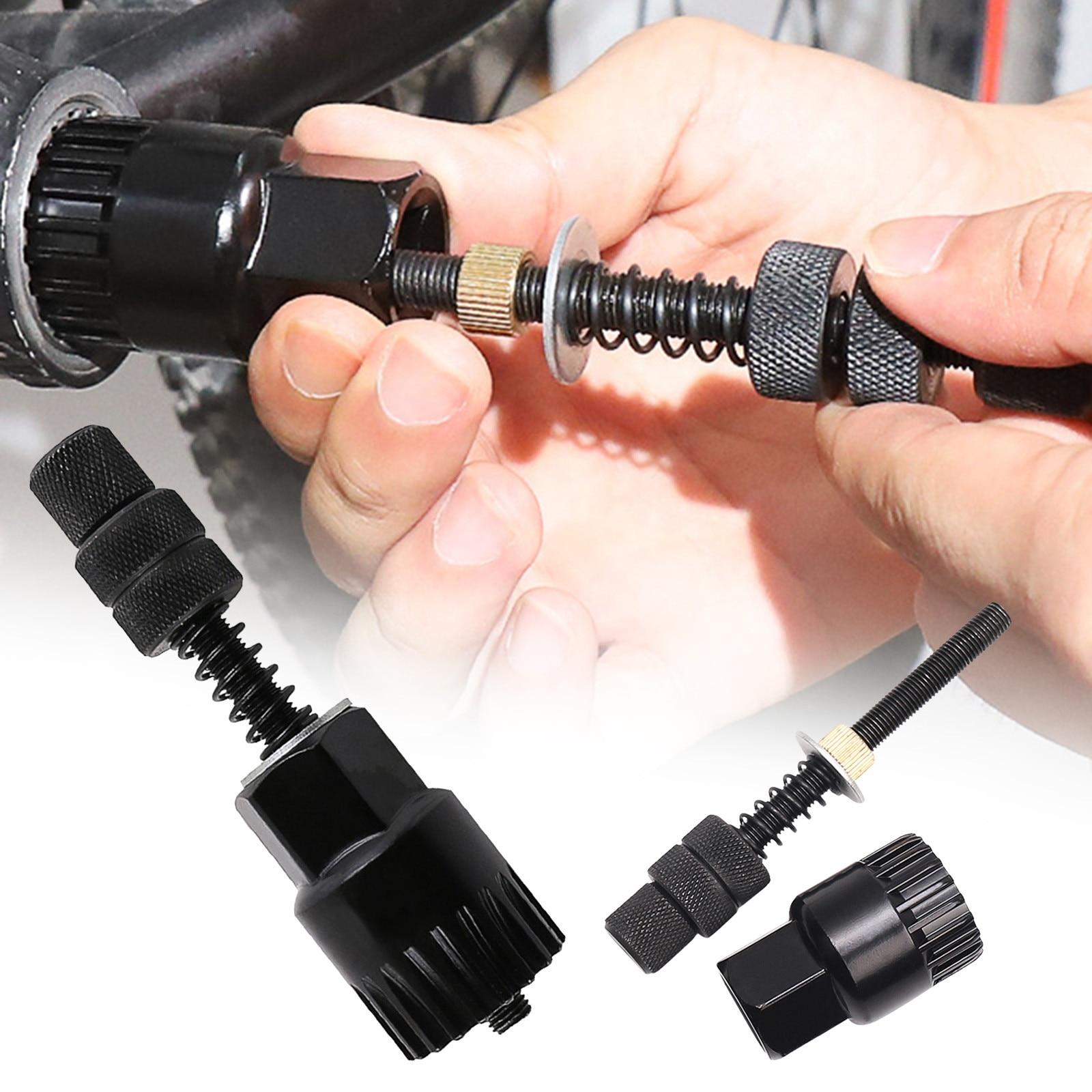Herramienta de extracción de eje inferior de bicicleta, accesorios para bicicletas