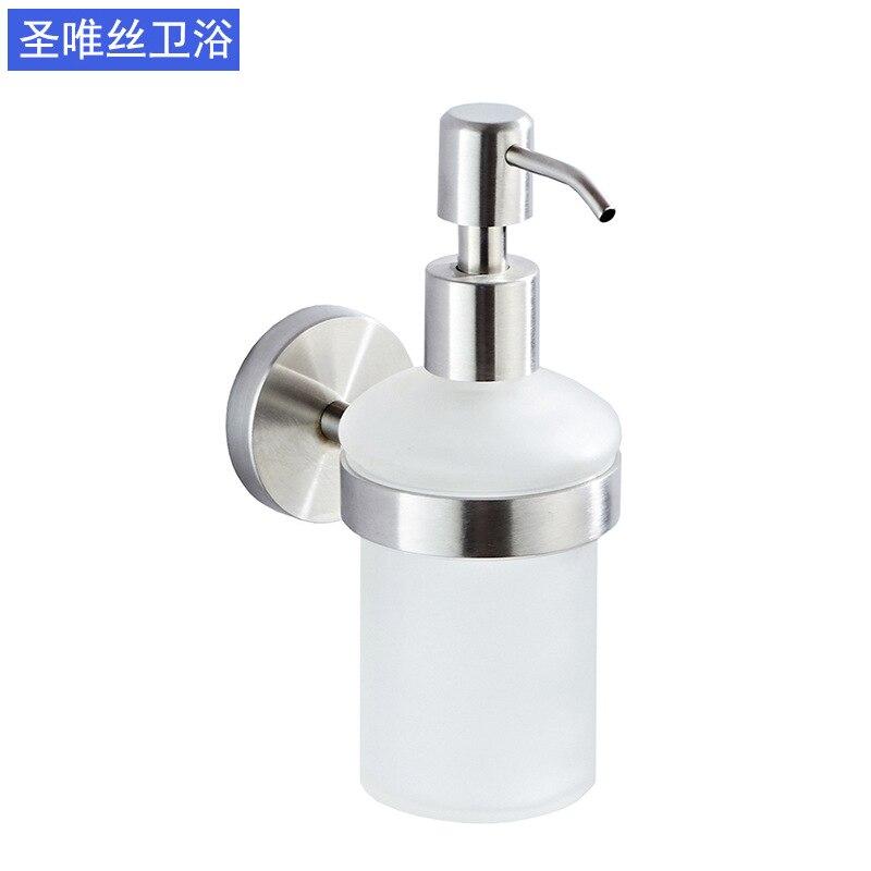 Europe Liquid Soap Dispenser Glass Container Kitchen Shampoo Hand Sanatizer Soap Bottle Travel Kitchen Products Garrafa DF50ZY enlarge