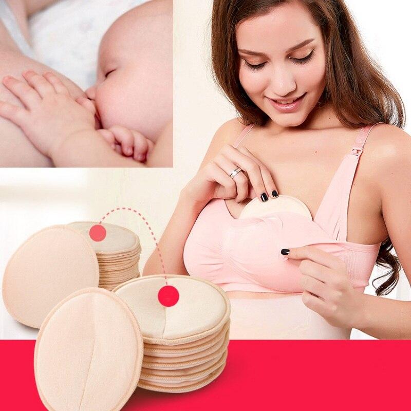 Прокладки для кормления грудью 4/24/36 шт., многоразовые моющиеся дышащие впитывающие прокладки против перелива