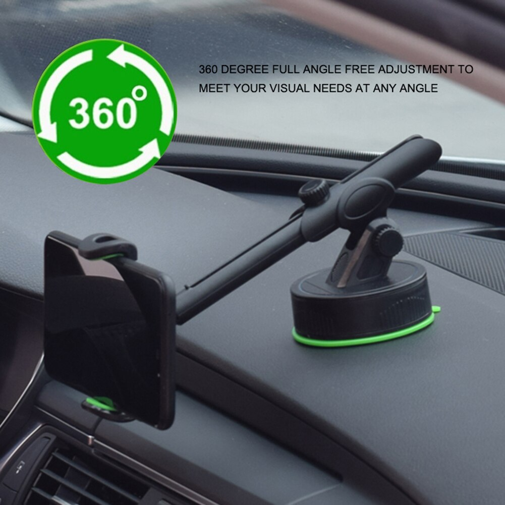 360 rotation automatically locking windshield mount car phone holder in car stand support for samsung iphone 3 styles 3 colors 360 Degree Rotation Car Holder Dashboard Mount Universal Car Phone Holder Stand for IPhone Samsung Smart Phone GPS