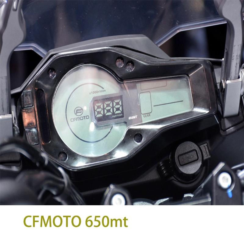 Instrumentos de motocicleta Kodaskin TPU velocímetro accesorios de película de protección para CFMOTO 650mt 650MT