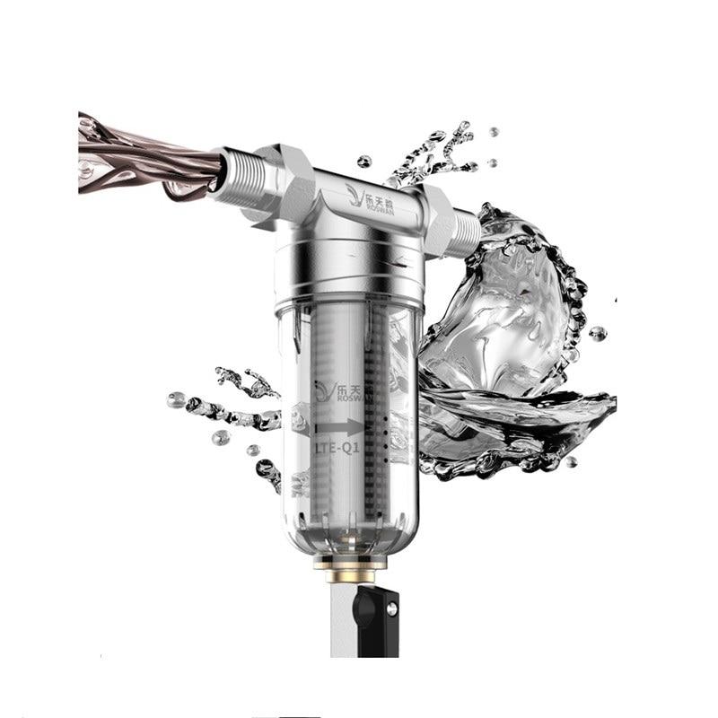 """Pre filtro 4 """"boca de rosca externa retrolavado 316 filtro de cartucho de filtro de acero inoxidable para conexiones de agua"""