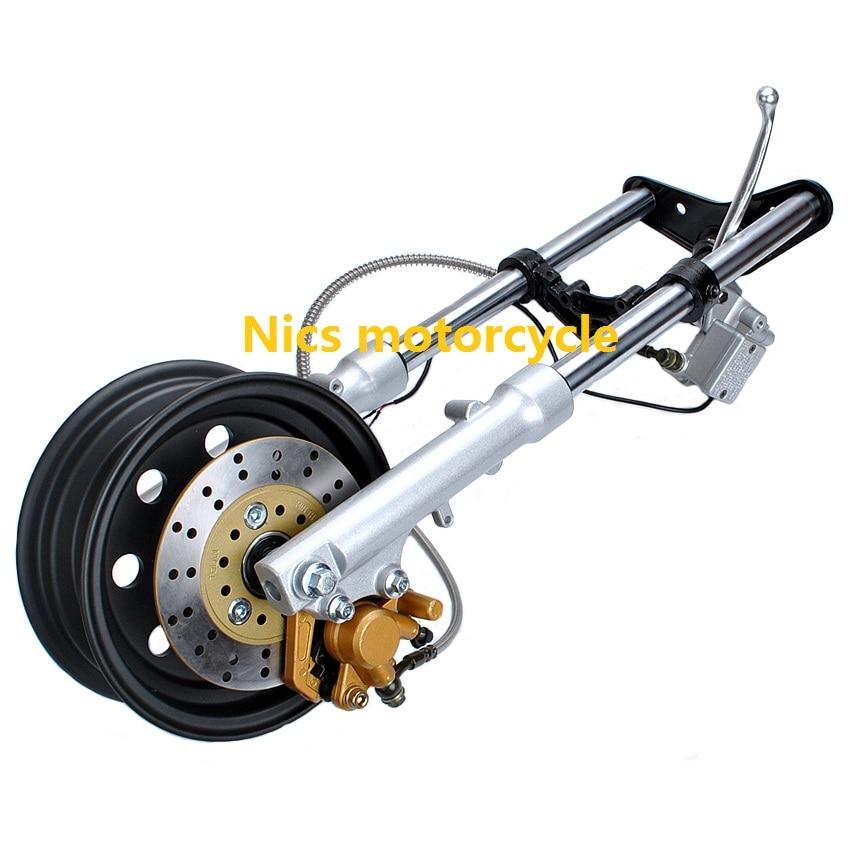 Pequeño mono de motocicleta Z50Q kit de freno de disco amortiguador de impacto frontal árbol trigeminal