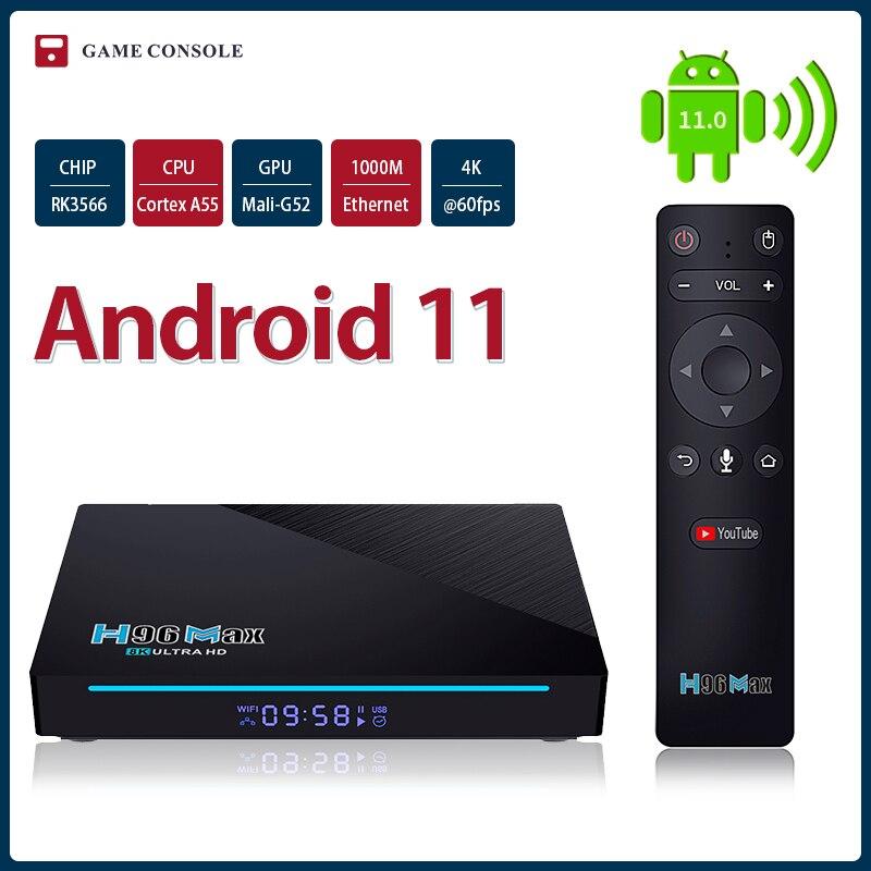 جديد H96 ماكس 3566 أندرويد 11 صندوق التلفزيون 2.4G 5G واي فاي TVbox مساعد يوتيوب مجموعة مشغل وسائط تي في بوكس 4K مربع التلفزيون الذكية