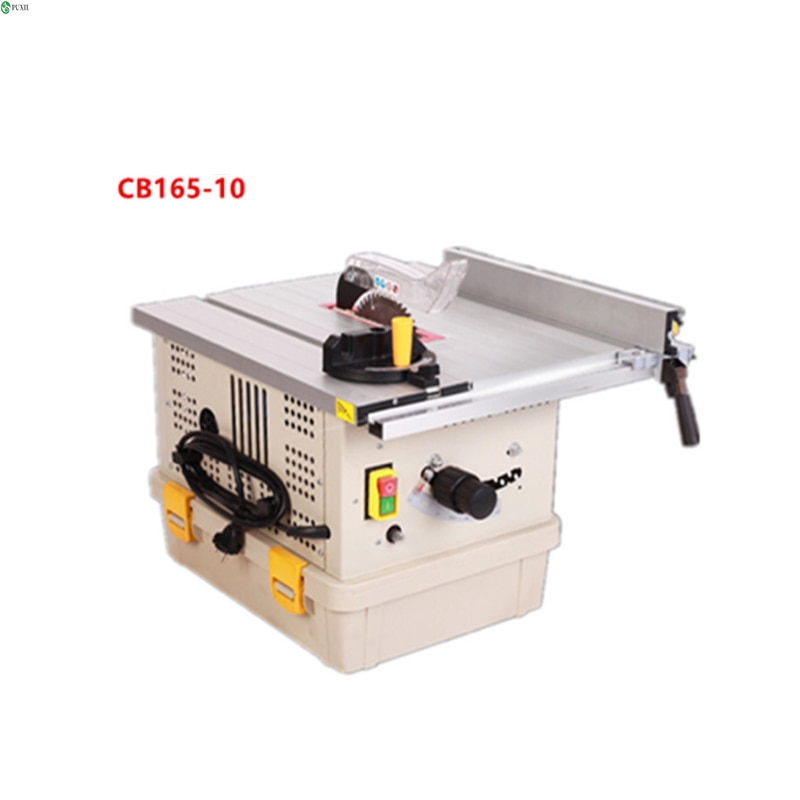 Dust-free saw multi-functional table saw solid wood floor small electric cutting machine woodworking sliding table saw