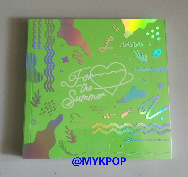 mykpop 100 original oficial wjsn para o verao album cd sa19070302 ver verde