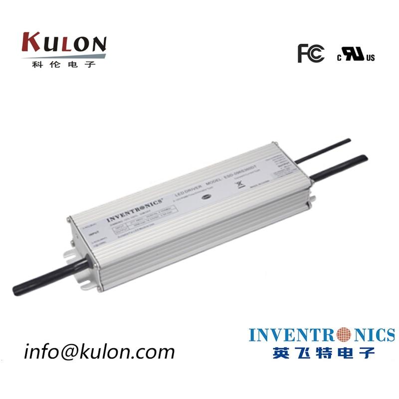 Inventronics EUG-200S105DV 700mA ~ 1050mA 95 286Vdc 200w IP67 led سائق