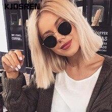 2020 Retro Runde Sonnenbrille Frauen Marke Designer Sonnenbrille Für Frauen Legierung Spiegel Sonnenbrille weiblichen oculos de sol