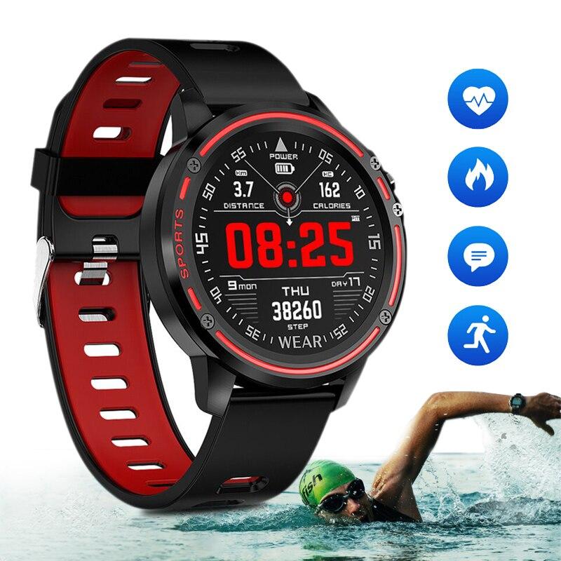 Функции кровяного давления Смарт-часы IP67 водонепроницаемые спортивные часы для смартфона IOS Android Беспроводная Bluetooth Мужская и женская одежда