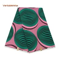 wholesale africa ankara polyester wax prints fabric veritablewax high quality 6 yards 2020 african fabric for party dress fp6348