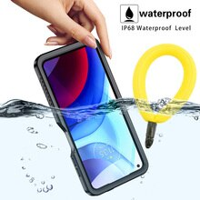 IP68 Waterproof Case For Moto G Power 2021 Diving Swim Outdoor Sports Anti-fall dust-proof TPU 360 F