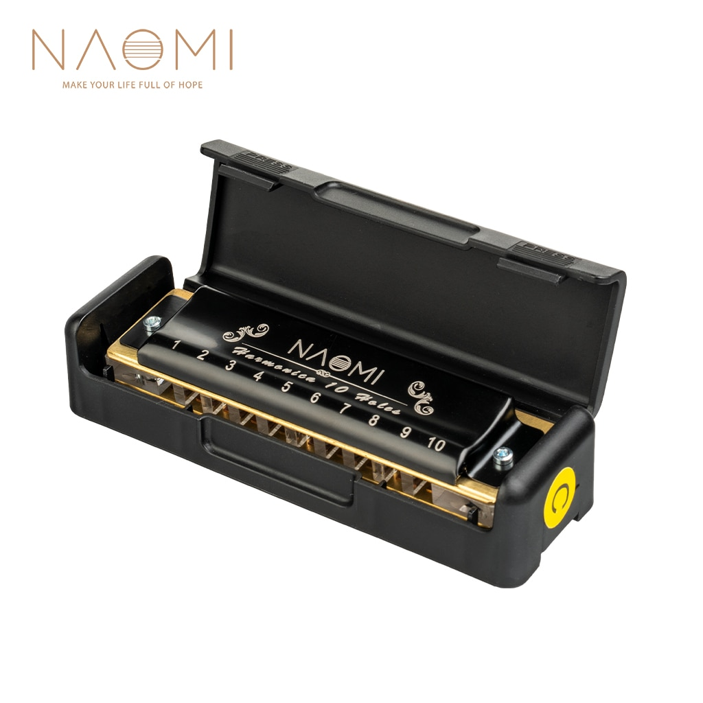 NAOMI 10 Holes 20 Tones Blues Harp Mouth Organ Harmonica Key Of C For Adults Beginners Professionals And Students сонни терри алек севард sonny terry and his mouth harp