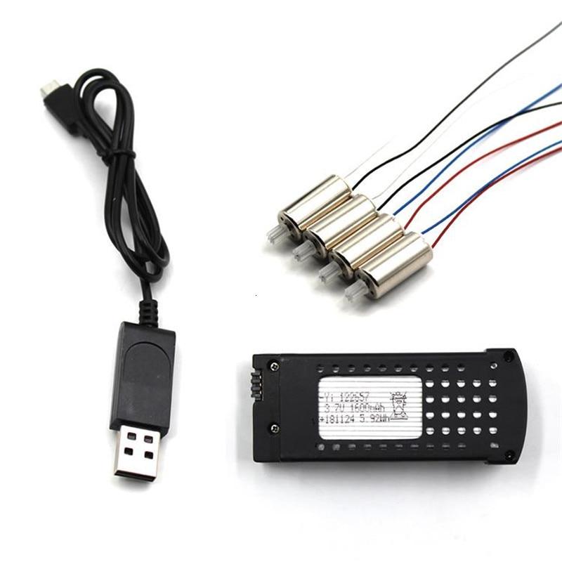 Sd106 recambios de cuadrirrotor RC batería y Motor y Cable de carga...