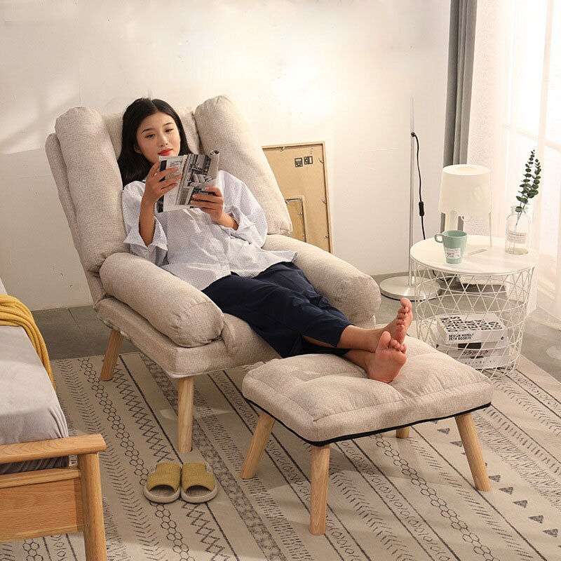 Кресла, диваны, складные офисные стулья, скандинавский расслабляющий стул для кровати, раскладная домашняя мебель, откидной гостиной