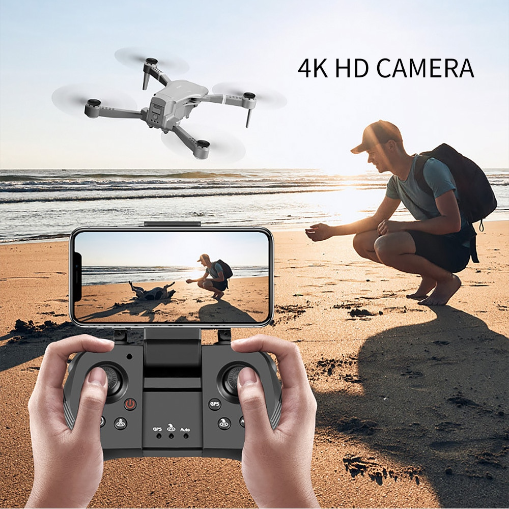 2020 NEW F3 drone GPS 4K 5G WiFi live video FPV quadrotor flight 25 minutes rc distance 500m drone HD wide-angle dual camera enlarge