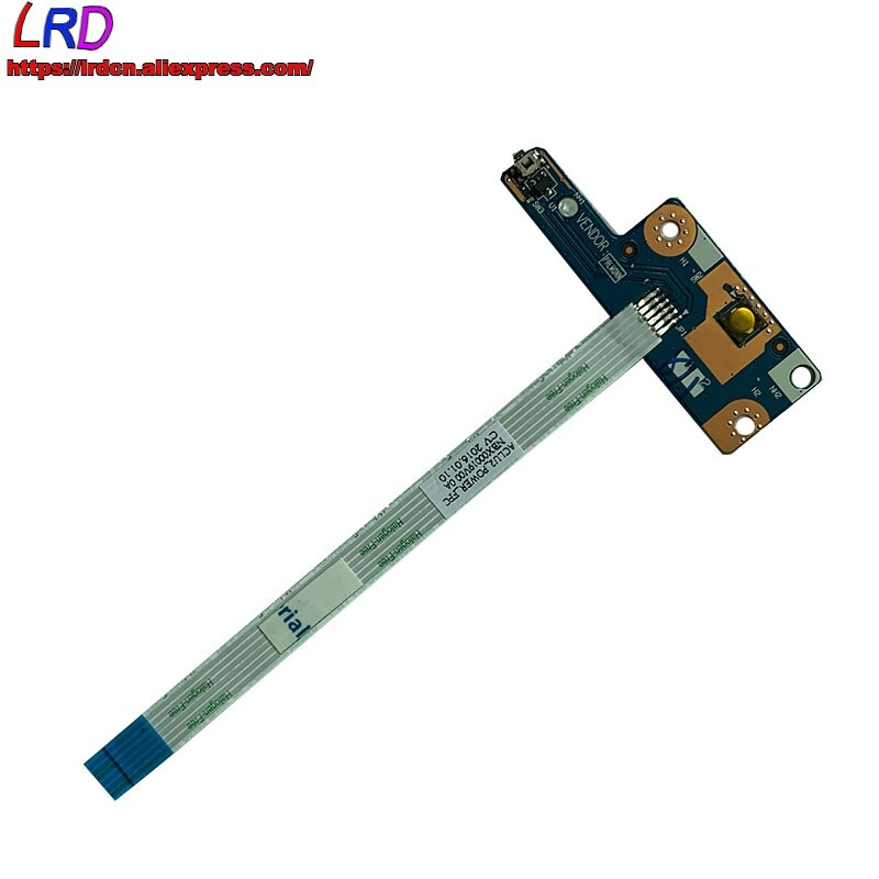 Novo original NS-A364 para lenovo z40 z50 g50-30-45 -70 -- 75 -80 placa do botão do interruptor de alimentação do portátil com cabo 5c50h19446