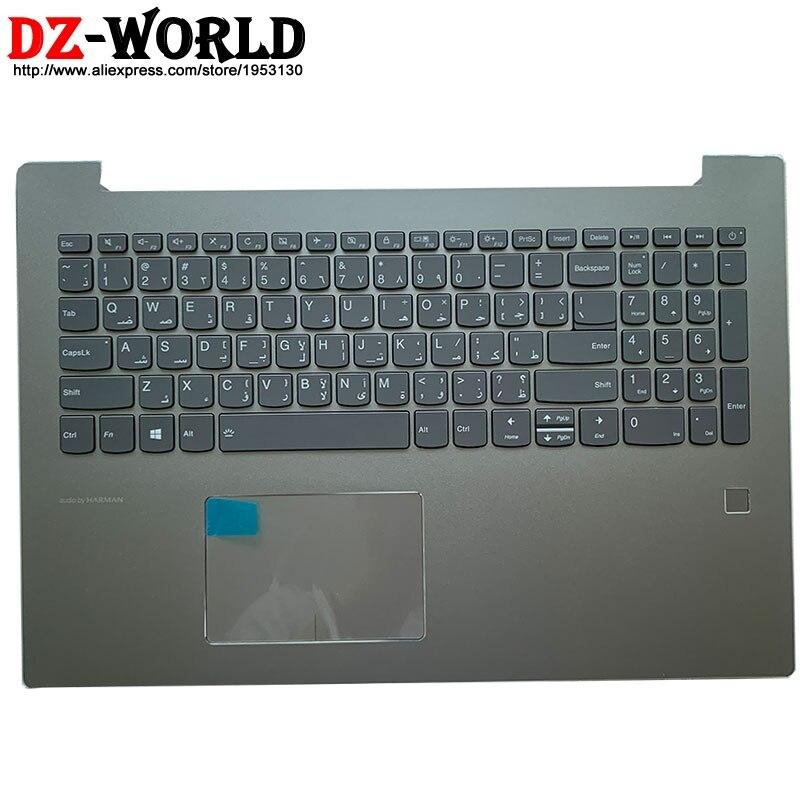 لوحة مفاتيح بإضاءة خلفية عربية مع غلاف C ، مسند المعصم ، لوحة اللمس ، FPR ، لأجهزة Lenovo ، Ideapad 520-15IKB ، الكمبيوتر المحمول 5CB0N98841