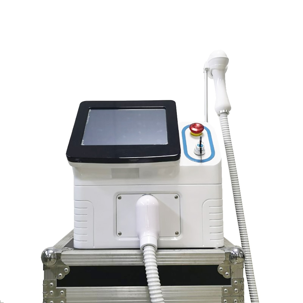 Máquina de Depilação a Laser Rejuvenescimento da Pele Removedor de Pêlos Diodo Indolor Depilação Permanente 50 Flash Impecável Depiladora 808nm