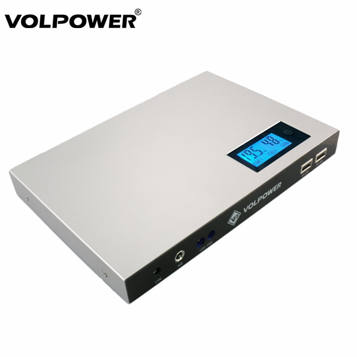 Volpower P180 متعدد الوظائف تيار مستمر خارج الشمسية شاحن بطارية 50000mah دفتر Powerbank usb-c جهاز باوربانك خاص باللاب توب 19 فولت لديل