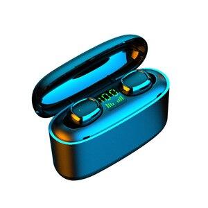 G5S TWS Mini Earphones 9D Stereo Bluetooth Business Earphone IPX7 Waterproof Sports Earbuds Wireless Earphones LED Display
