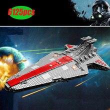 MOC 18916 nouvelle Star croisière navire guerres lempire sur Jedha ville MOC 5162 pièces bloc de construction jouet pour cadeau de noël