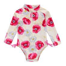 Honeyzone maillot De Bain enfant Mayo De Bain Fille rose flore mignon Bimba Y Lola sac Playa Bebe une pièce Piscina Infantil Bikini