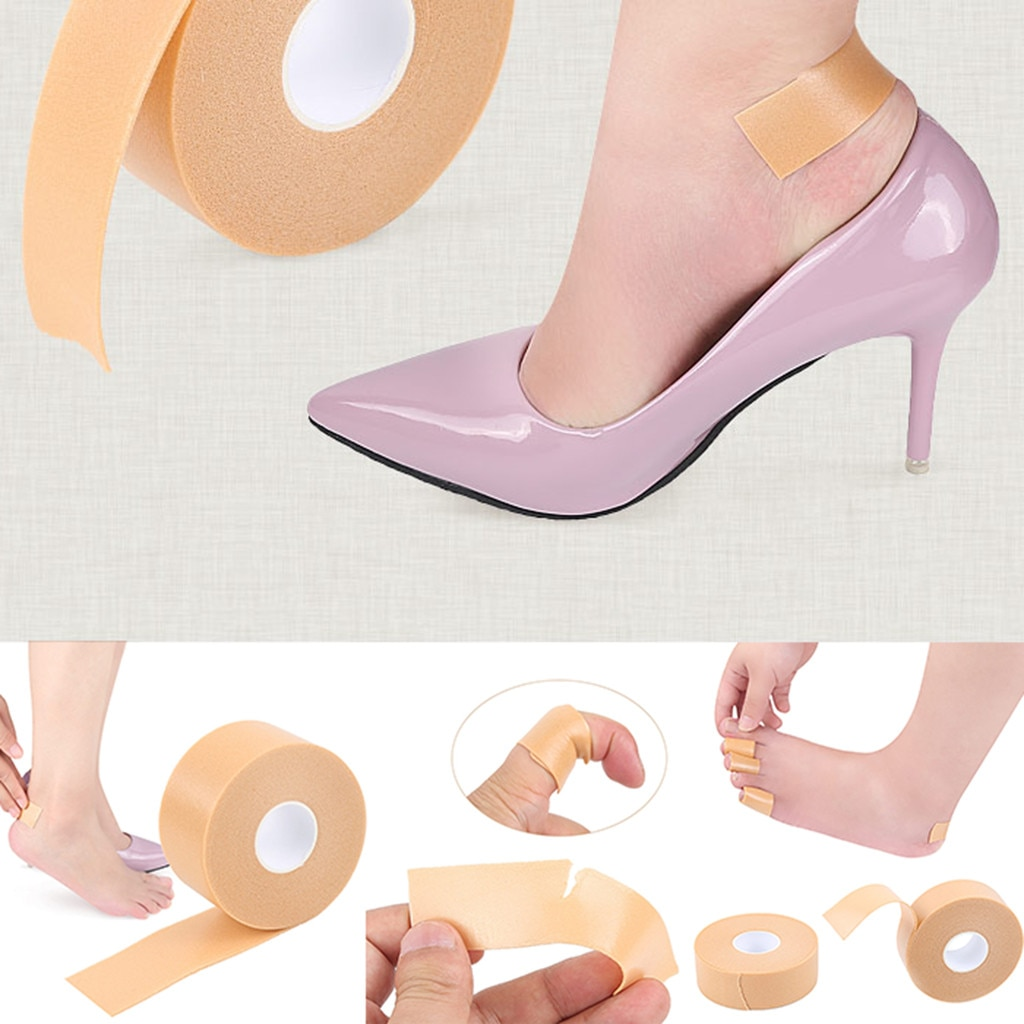 1 ud. Pegatina etiqueta engomada del talón zapatos Post multifuncional antideslizante Post Blister pegatina de pies herramienta de cuidado de pies zapatillas accesorios