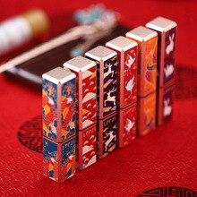 Nouveau 1 pièces cité interdite rouge à lèvres Style chinois longue durée hydratant cosmétiques pour les femmes SCI88