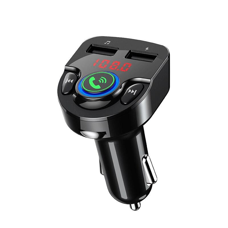 Автомобильный bluetooth fm-передатчик, автомобильный комплект, гарнитура, mp3-плеер, беспроводное радио, автомобильное зарядное устройство, USB SD музыка