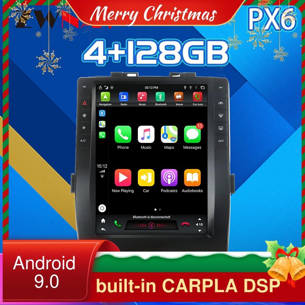 Für Toyota Alphard 2015-2019 CARPLAY Android 9,0 px6 Tesla stil Auto DVD player GPS Navigation Auto Multimedia-player