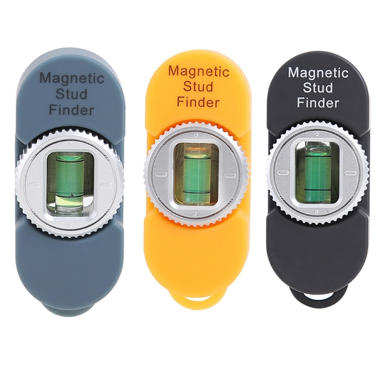 Magnetic Wall Stud Finder & Level Detector for Steel Nails, Screws, Fasteners in Stud Walls, Plasterboard Drywall, Wood