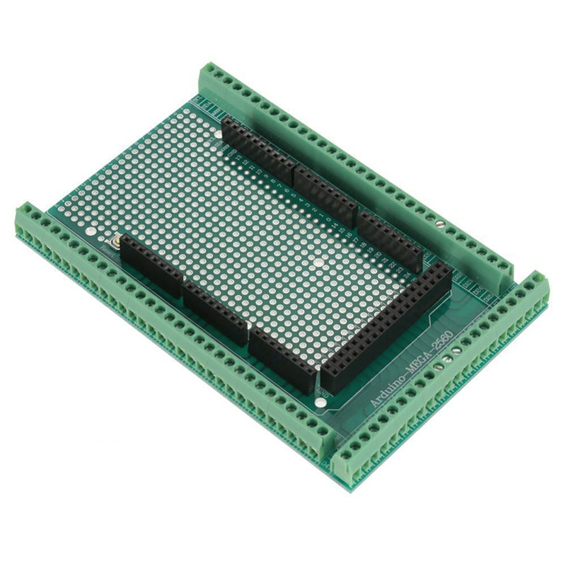 1pc MEGA-2560 Prototype Screw Terminal Block Shield Board Socket For Arduino Hot