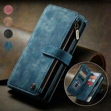 CaseMe Phone Leather Case For iphone 13 12 11 Pro Max 13 mini 7 8 Plus X XS Max XR Luxury Credit Car