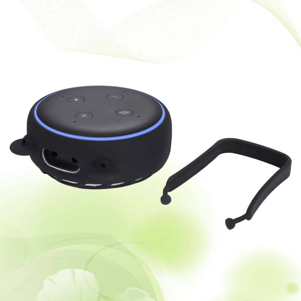 Silicone Speaker Stand Holder Wall Mount Stand Holder Charge for Echo Dot 3 enlarge