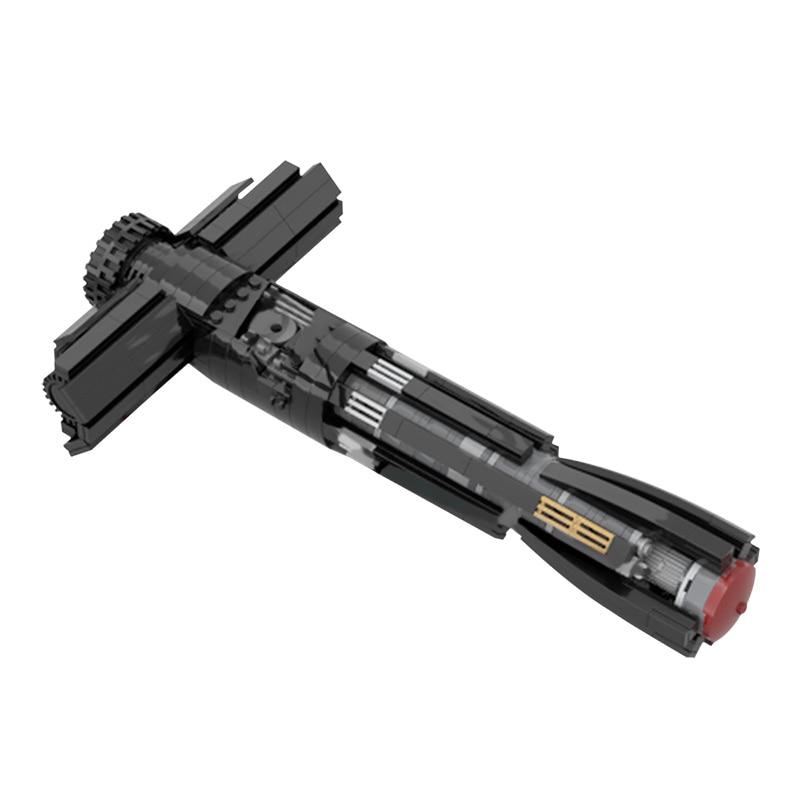 MOC ستار فيلم Solider الأسلحة اللبنات للأرقام رن والظلام اللورد ايمو طفل ليتسبر هيلت نموذج ليزر السيف القتالية اللعب